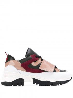 Кроссовки на шнуровке A.F.Vandevorst. Цвет: розовый