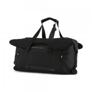 Сумка Porsche Design Duffle Bag PUMA. Цвет: черный