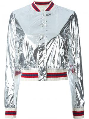 Куртка-бомбер Ferna Isabel Marant Étoile. Цвет: серый