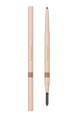 Stylo À Sourcils Waterproof – Водостойкий карандаш для бровей 02 Blond Gucci Beauty. Цвет: бежевый