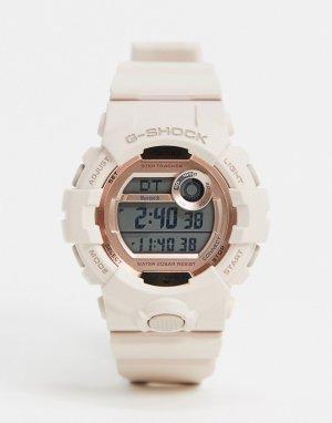 Розовые цифровые часы G Shock GMD-8800-Розовый Casio