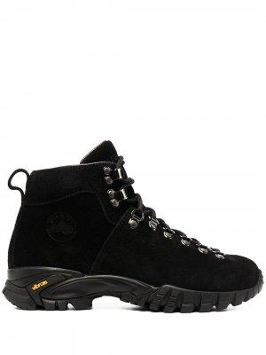Массивные ботинки хайкеры Diemme. Цвет: черный
