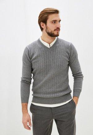 Пуловер Dairos. Цвет: серый