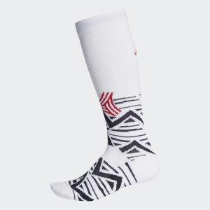 Гетры Alphaskin Graphic Cushioned Performance adidas. Цвет: черный