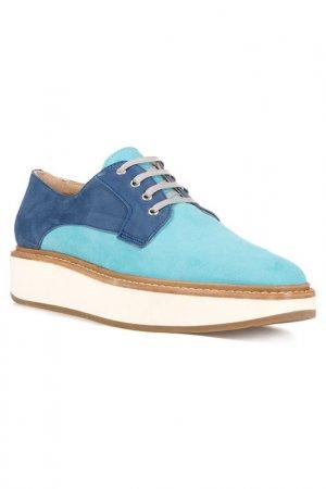 Ботинки Gabriele. Цвет: синий