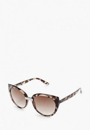 Очки солнцезащитные Madeleine. Цвет: коричневый