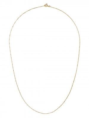 Цепочка на шею Forçat 50 из желтого золота Aurelie Bidermann. Цвет: золотистый