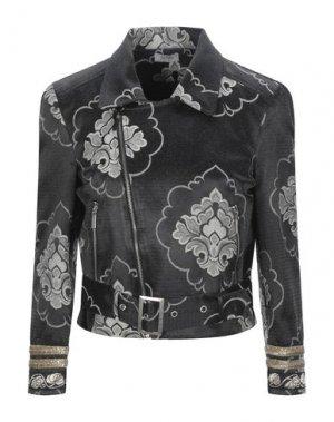 Куртка FRACOMINA. Цвет: стальной серый