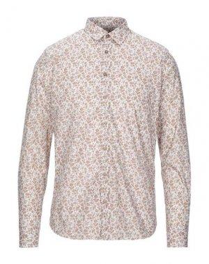 Pубашка HAMAKI-HO. Цвет: коричневый
