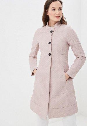 Пальто Naumi. Цвет: розовый