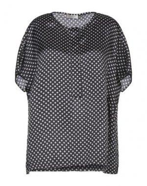 Блузка CAPPELLINI by PESERICO. Цвет: черный