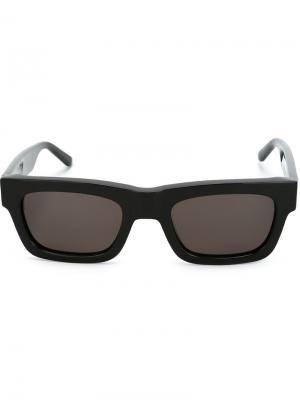 Солнцезащитные очки Type 03 Sun Buddies. Цвет: чёрный