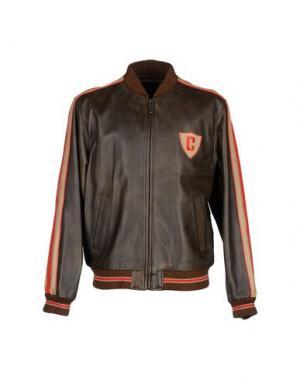 Куртка CHEVIGNON. Цвет: темно-коричневый