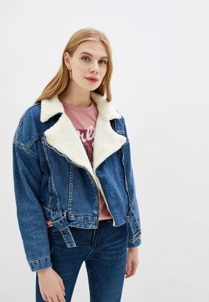 Куртка джинсовая OVS. Цвет: синий