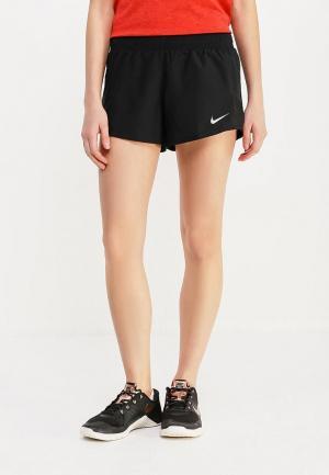 Шорты спортивные Nike WOMENS 10K RUNNING SHORTS. Цвет: черный
