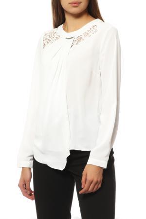 Блузка Vangeliza. Цвет: белый
