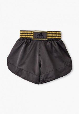 Шорты спортивные adidas Combat Thai Boxing Short Satin. Цвет: черный