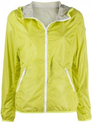 Легкая куртка на молнии Colmar. Цвет: зеленый