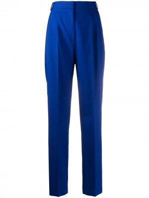 Зауженные брюки Klein с завышенной талией Joseph. Цвет: синий