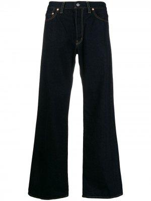 Расклешенные джинсы Yohji Yamamoto. Цвет: синий