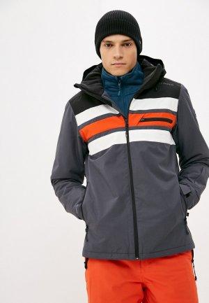 Куртка горнолыжная Brunotti Alex. Цвет: серый
