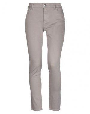 Джинсовые брюки DL1961. Цвет: голубиный серый