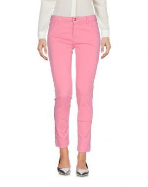 Брюки-капри CARLA G.. Цвет: пастельно-розовый