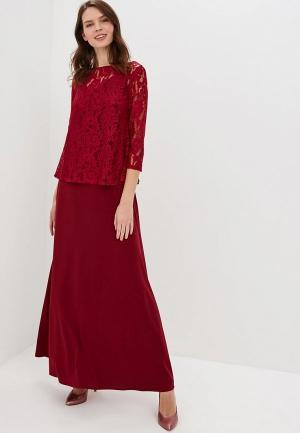 Комплект Alina Assi. Цвет: бордовый