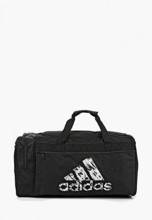 Сумка спортивная adidas Combat Team Bag. Цвет: черный
