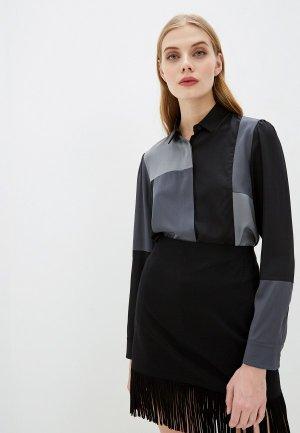 Блуза Akris Punto. Цвет: серый