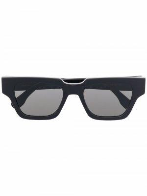 Солнцезащитные очки Storia Retrosuperfuture. Цвет: черный