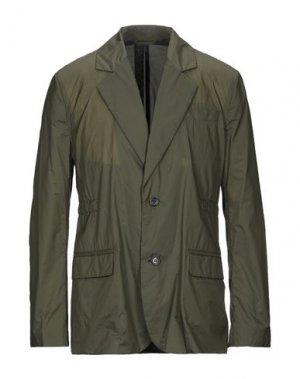 Пиджак ACNE STUDIOS. Цвет: зеленый-милитари