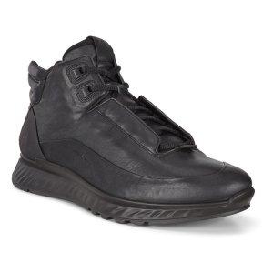 Ботинки EXOSTRIDE ECCO. Цвет: черный