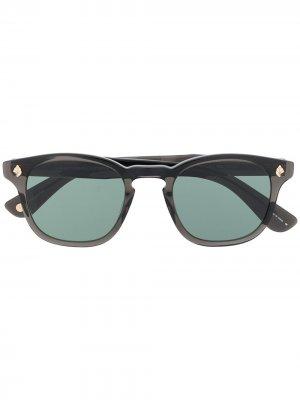 Солнцезащитные очки Ace с затемненными линзами Garrett Leight. Цвет: черный