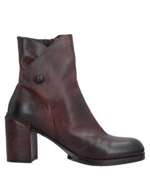 Полусапоги и высокие ботинки AREA FORTE. Цвет: коричневый