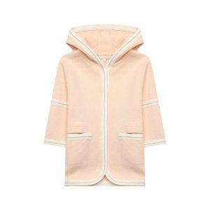 Хлопковое пальто Chloé. Цвет: розовый