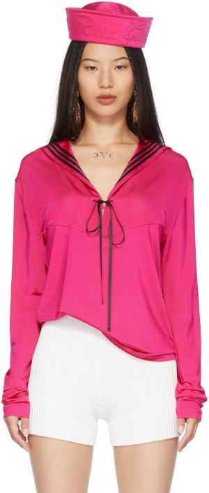 Pink Les Marins Sailor Long Sleeve T-Shirt Jean Paul Gaultier. Цвет: 22 shockpin