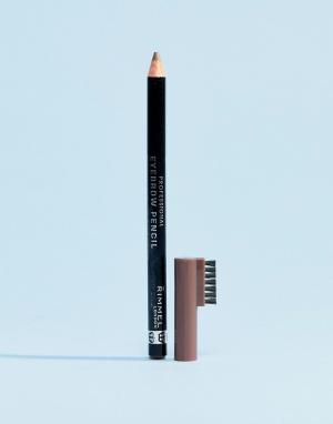 Профессиональный карандаш для бровей Rimmel-Коричневый цвет Rimmel London