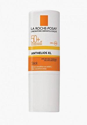 Бальзам для губ La Roche-Posay ANTHELIOS XL, чувствительных зон, spf 50+, 9 мл. Цвет: белый