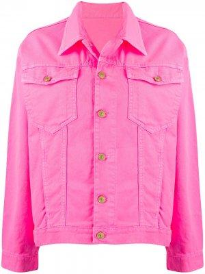 Джинсовая куртка Chiara Ferragni. Цвет: розовый