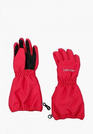 Перчатки Lassie Zea. Цвет: розовый