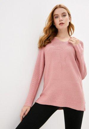 Пуловер Blue Seven. Цвет: розовый