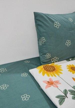 Постельное белье 2-спальное Dream Time. Цвет: зеленый