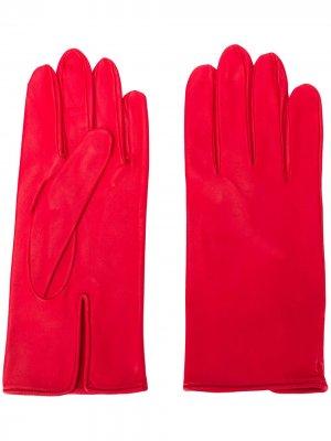 Перчатки кроя слим Ernest W. Baker. Цвет: красный