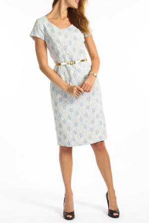 Платье TOK. Цвет: blue