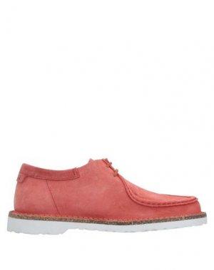Полусапоги и высокие ботинки BIRKENSTOCK. Цвет: кирпично-красный