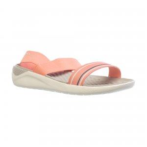 Сабо LiteRide Sandal W Crocs. Цвет: розовый, синий