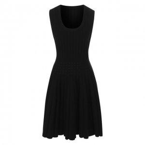 Платье Alaia. Цвет: чёрный