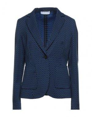 Пиджак CARACTÈRE. Цвет: синий