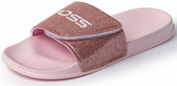 Шлепанцы для девочек Sunshine 3, размер 31 Joss. Цвет: розовый